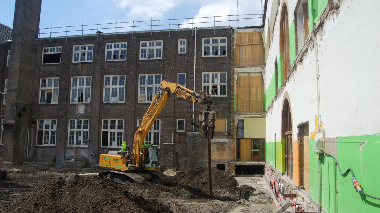 Heipalen verwijderen in Haarlem - Van Schie
